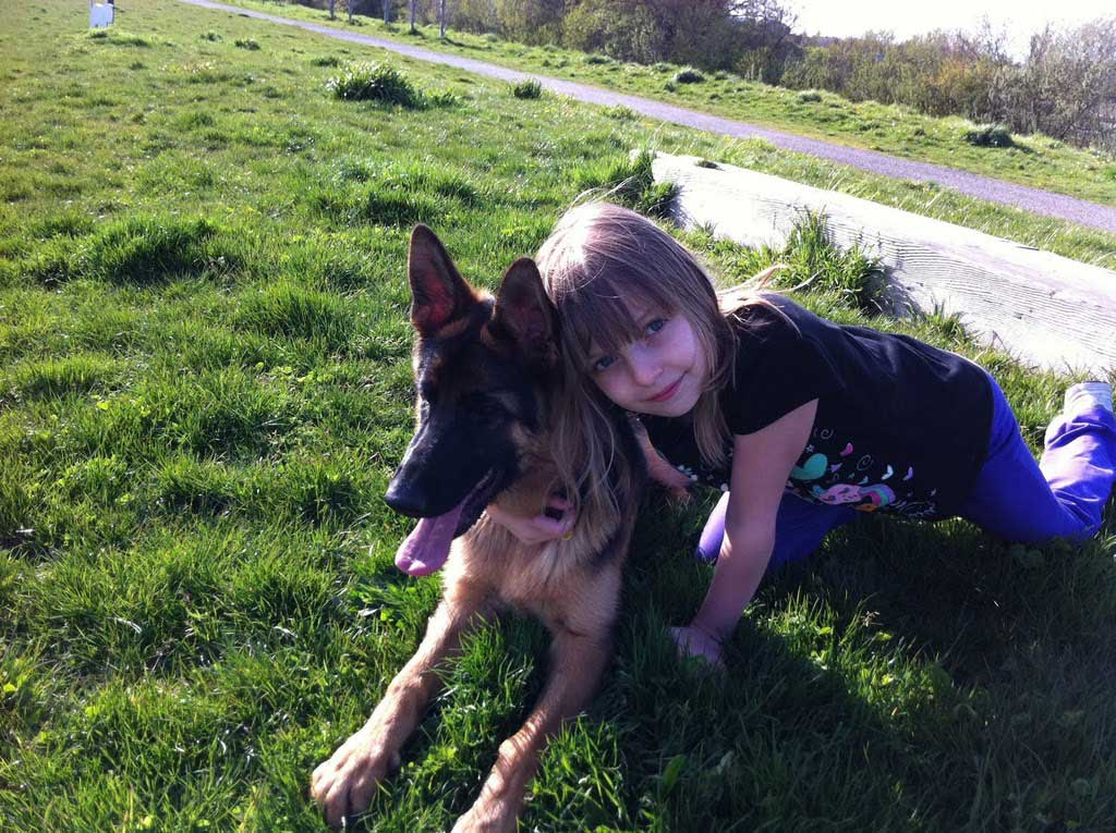 Something also german shepherd and kids matchless message